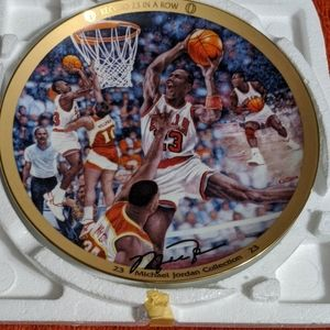 Michael Jordan collectors edition plate (1997)